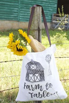 Farmer's Market Bags Made From Drop Cloth