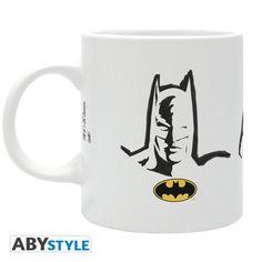 DC COMICS Mug Batman Superman Wonder Woman sigles