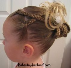 Braids Braids and More Braids  from BabesInHairland.com #braids #updo #hairstyle #girls