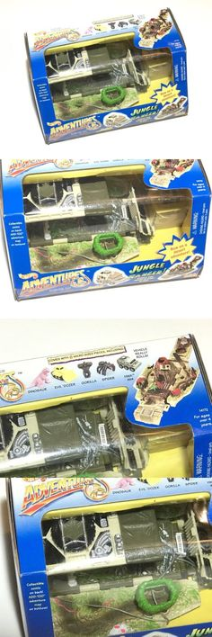 Tanks and Military Vehicles 171138: New Rare 1994 Hot Wheels Adventures Jungle Ranger Vehicle Micro Playset Free S H -> BUY IT NOW ONLY: $55 on eBay!