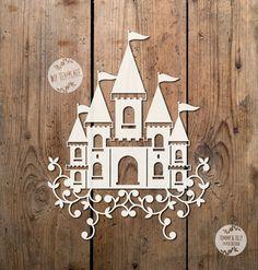 Princess Castle SVG PDF Design by TommyandTillyDesign on Etsy