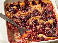 """Blackberry Cobbler 