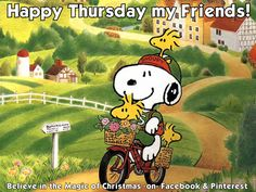 2oct14 - - Snoopy Happy Thursday Quote