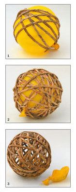 Recycled paper balls step by step - Oscar Wallin Paper Balls, Paper Weaving, Xmas Decorations, Quilling, Origami, Christmas Crafts, Recycling, Presents, Sweet