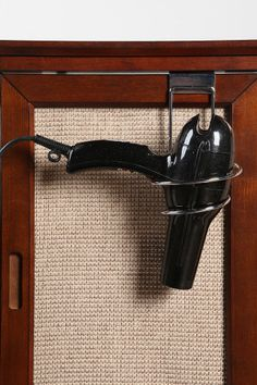 DIY idea :: Hair Dryer Holder ( Urban Outfitters $12 )
