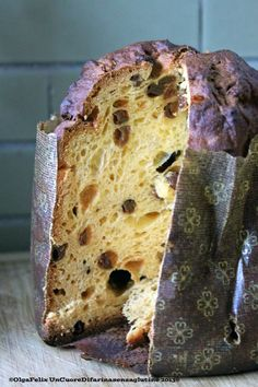 Buon Natale!!! Panettone a Biga II :) | Un cuore di farina senza glutine