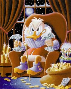 Uncle Scrooge - Merry Christmas by Carl Barks