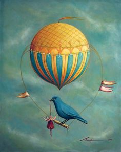 """Blue Bird"" Santie Cronje English"