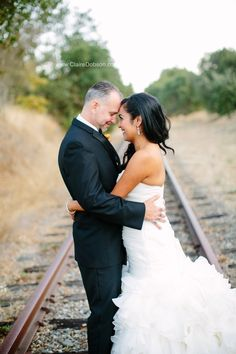 Janet and Corey are married at Trione Winery
