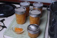 Mad Scientist Marmalade.  This stuff is great, takes a long time, but it's easy, can be infinitely expanded or shrunk. One tip though, save orange shells in the freezer. We saved one batch in the fridge and they got moldy. :-P