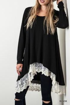 Black Lace Sweater                                                                                                                                                                                 More