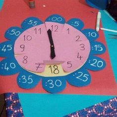 Imagem – Educação Infantil – Aluno On Learning Clock, Kids Learning, Teaching Time, Teaching Math, Educational Activities, Preschool Activities, Math For Kids, Crafts For Kids, Material Didático