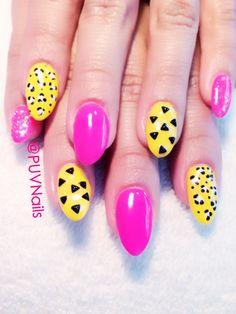 Nails w/gel polish n design