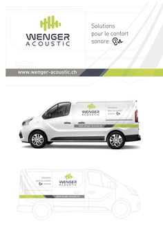 Habillage camionette wenger-acoustic.ch @washaweb Solution, Acoustic