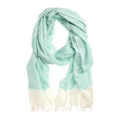 Cotton Scarf  - I'll take one in every color.