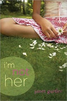 I'm Not Her.  If your sister found out she had cancer what would you do? This book is truly inspiring and shows in deep detail all of the hardships of having a family member with cancer.
