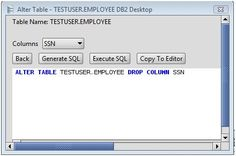 Following Drop Table JDBC code deletes the table Employee. All the records also deleted with the table. drop table SQL command is used.
