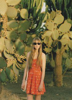 Orla Kiely SS 11 campaign shoot,  Photography by Venetia Scott