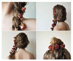 flowers #Hairstyles
