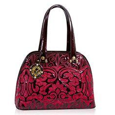 Leather Bowling You Save Luxury Handbags, Purses And Handbags, Designer Handbags, Patent Leather, Leather Bag, Italian Handbags, Bowling Bags, New Bag, Italian Fashion