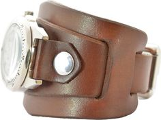 Leather Cuffs, Leather Bag, Brown Leather, Leather Bracelets, Watches Photography, Leather Projects, Watch Faces, Band, Leather Working