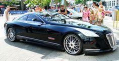 Los 10 autos más caros del mundo. Imagen: Maybach Exelero. (8K dólares)