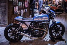EICMA 2015 Yamaha XV #motorcycles #caferacer #motos | caferacerpasion.com