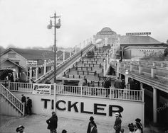 Ohio Tickler Not As Rough As Last Season1910 Vintage 8x10 Reprint Of Old Photo