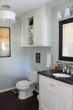 43 Over The Toilet Storage Ideas For Extra Space | Medicine cabinets ...