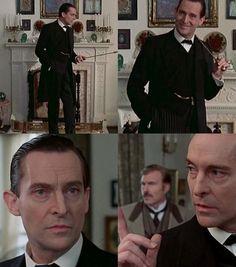 JEREMY BRETT, SHERLOCK HOLMES  - the best Sherlock ever!