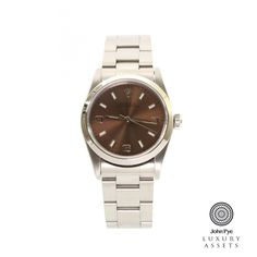#Rolex Oyster Perpetual Midi Unisex Stainless Steel Automatic #Watch