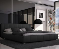 Black Bed Frame Queen – check various designs and colors of Black Bed Frame Queen on Pretty Home. Also checkWhite Bed Frame Queen http://www.prettyhome.org/black-bed-frame-queen/