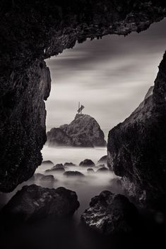Amazing black and white landscape photography from Albert Tam #LandscapeBlackAndWhite