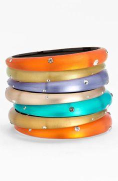 Alexis Bittar 'Diamond Dust' Skinny Tapered Bracelet