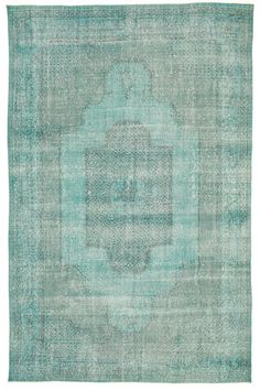 Colored Vintage tapijt XCGC179 315x205 van Turkije - CarpetVista