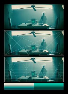 "A breakdown of the visual language of ""Blade Runner""  - Directed by Ridley Scott / Cinematography by Jordan Cronenweth.     Using a square g..."