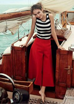 """Beyond the Sea"" Luma Grothe for Harper's Bazaar Mexico June 2015"