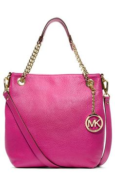$198 - MICHAEL Michael Kors 'Jet Set - Medium' Chain Shoulder Tote available at #Nordstrom