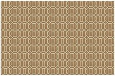 @>  Ruggable 2 pc Area Rug Set- Modern Fretwork- Tobacco/White by Ruggable