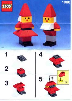 Basic - Santa's Elves [Lego - Basic – Santa's Elves [Lego Best Picture For diy clothes For Your Taste You are looking - Lego Duplo, Lego Toys, Lego Christmas Ornaments, Lego Christmas Village, Noel Christmas, Lego Basic, Lego Advent Calendar, Lego Design, Legos