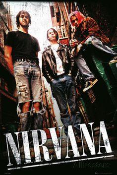 Nirvana - Alley Affiche