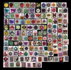 Creative Bubble, Crochet Amigurumi, Advent Calendar, Bubbles, Photo Wall, Kawaii, Dishes, Holiday Decor, Frame