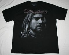 Rolling Stone Magazine 1967-1994 KURT COBAIN 6/2/94 Issue T-Shirt-Men's 2XL xxl