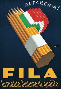 ✔️ Fila la matita italiana di qualità - Autarchia