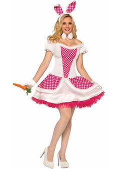 Make your way out of that bunny hole and show off what you've got in this #sexy bunny outfit!  #Easter #FancyDress