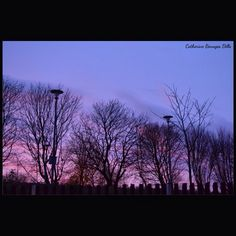 Pink-Purple-Blue Sky