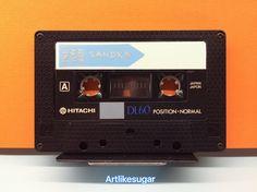 Cassette Tape, Audio, Vintage, Vintage Comics
