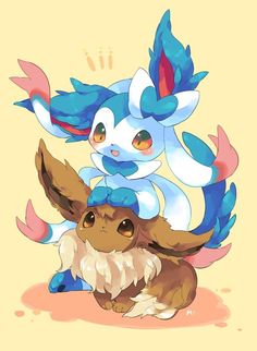 Shiny Sylveon & Eevee
