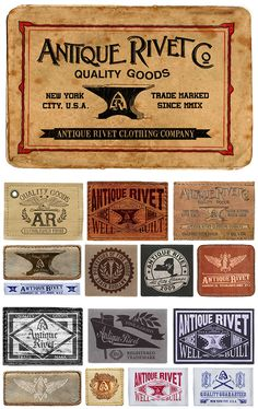 ANTIQUE RIVET CLOTHING CO. by STEPHEN SKURNICK