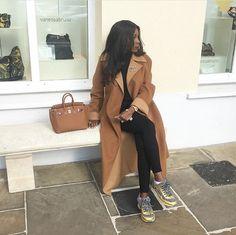 #Zara coat #topshop jeans #Chanel sneakers #hermes Birkin 25 gold Hermes Birkin, Birkin 25, Birkin Bags, Hermes Kelly 25, Chanel Sneakers, Gold Outfit, Zara, Hermes Handbags, Hermes Bags